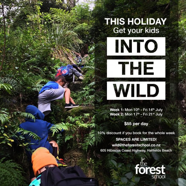The Forest School Holiday Program