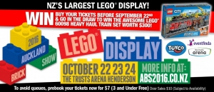 Auckland Brick Show for School Newsletter