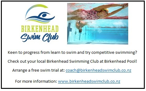 Birkenhead Swimming Advert March18